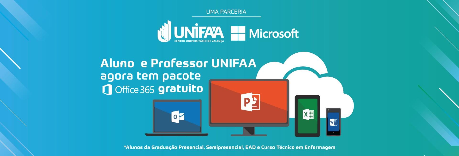 parceria unifaa e microsoft
