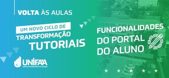 FUNCIONALIDADES DO PORTAL DO ALUNO